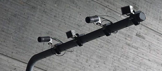 ANPR cameras looking downwards